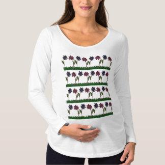 Nice & Lovely Spring Martenity Flowers art Design Maternity T-Shirt