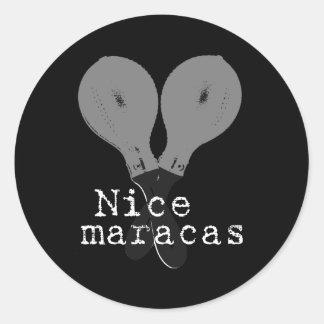 Nice Maracas Stickers