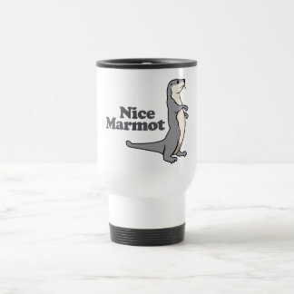 Nice Marmot ferret Travel Mug