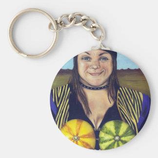 Nice Melons Keychain