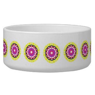 Nice Modern abstract pattern Pet Food Bowl