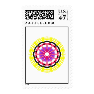 Nice Modern abstract pattern Postage