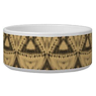 Nice modern pattern dog bowls