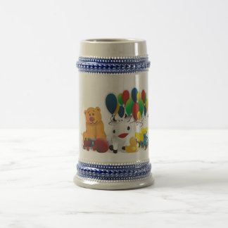 Nice motive for child beer stein