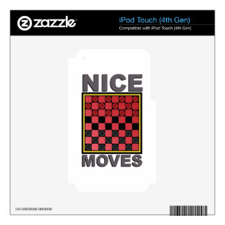 Nice Moves iPod Touch 4G Decal