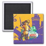 Nice Moves Senor 2 Inch Square Magnet
