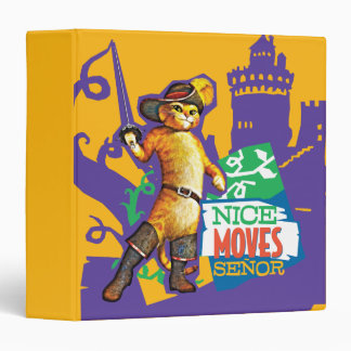 Nice Moves Senor 3 Ring Binder