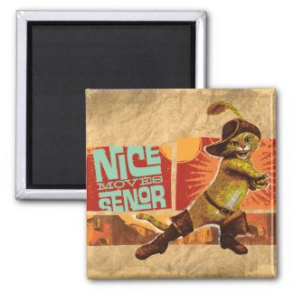 Nice Moves Senor 2 Inch Square Magnet
