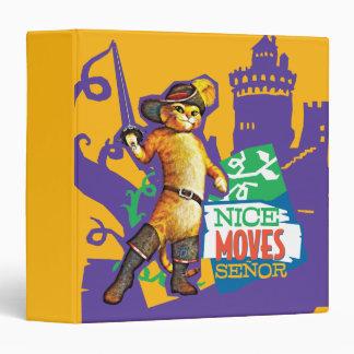 Nice Moves Senor Vinyl Binder