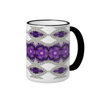 Nice Mug with Amethyst Fractal Design