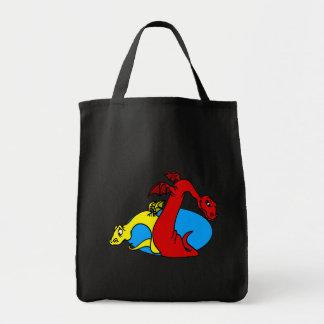 Nice & Nasty Dragons Tote Bag
