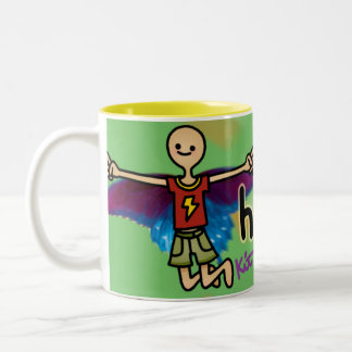 nice nectar. Two-Tone coffee mug