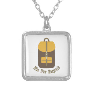 Nice New Knapsack Personalized Necklace
