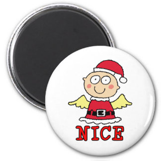 Nice not Naughty magnet