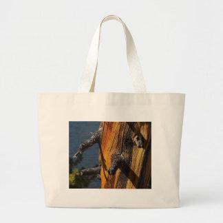 Nice Old Pine Tree Tote Bags