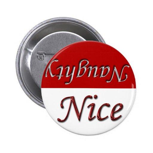 Nice Or Naughty This Holiday Season Pinback Button