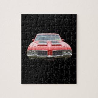 Nice orangish or red Oldsmobile Cutlass Jigsaw Puzzle