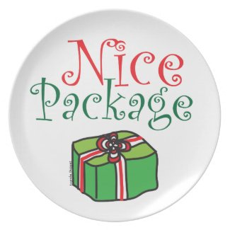 Nice Package Christmas Dish Dinner Plates