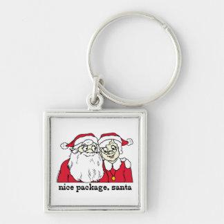 Nice Package Santa Claus Key Chains