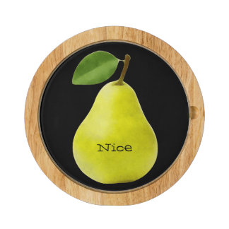 Nice Pear - Funny Cheese Platter