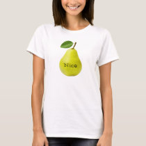 Nice Pear - Funny T-Shirt