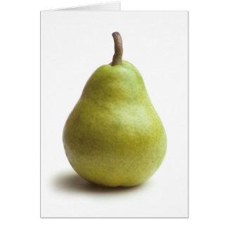 """Nice Pear!"" Greeting Card"