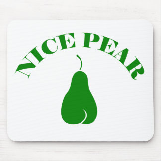 NICE PEAR MOUSE PAD