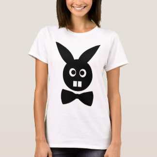 nice rabbit with bow tie icon T-Shirt
