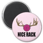 Nice Rack 2 Inch Round Magnet