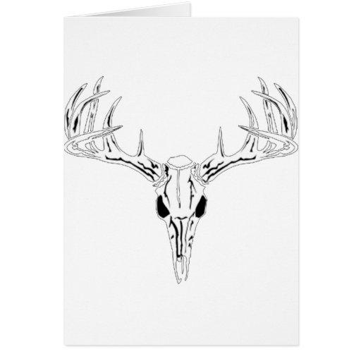 Nice Rack-Trophy Buck-Deer Rack Card
