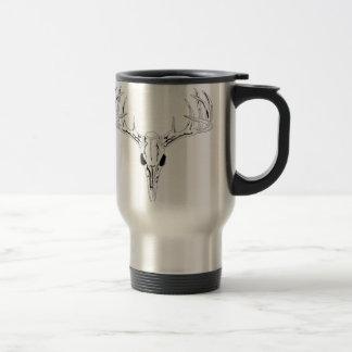 Nice Rack-Trophy Buck-Deer Rack 15 Oz Stainless Steel Travel Mug
