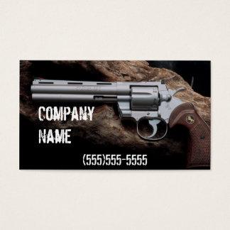 Nice Revolver  ffl dealer business card