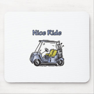Nice Ride Golf Design Mouse Pad