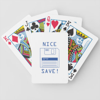 Nice Save! Bicycle Playing Cards