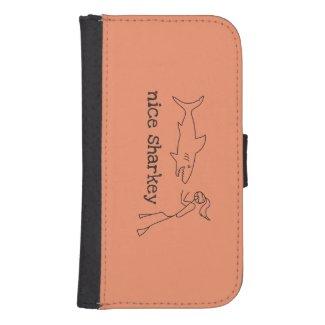 Nice Sharkey Galaxy S4 Wallet Case