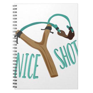 Nice Shot Notebook
