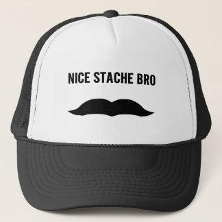 Nice Stache Bro Trucker Hat