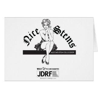 """Nice Stems"" Card"