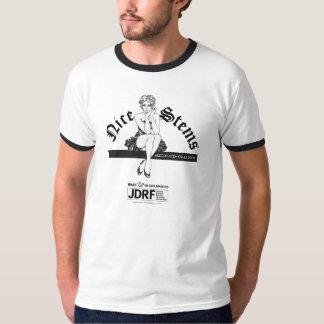 """""""Nice Stems"""" Ringer T-Shirt"""