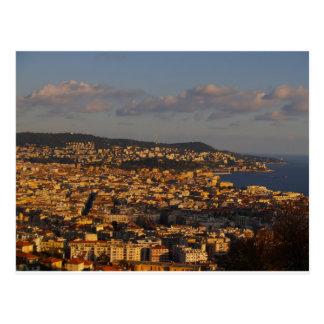 Nice sunset France Postcard