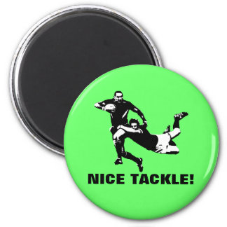 Nice tackle,Rugby Magnet