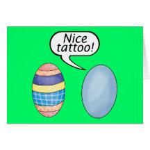 Easter Egg Card Tattoo