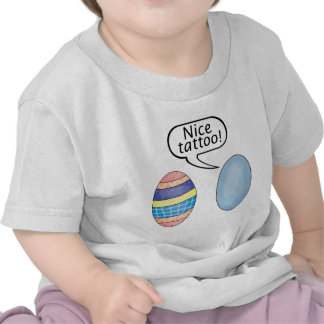 Nice Tattoo Easter Eggs T-shirt