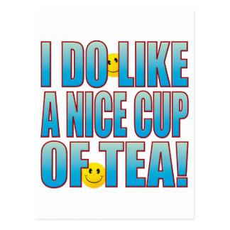 Nice Tea Life B Postcard