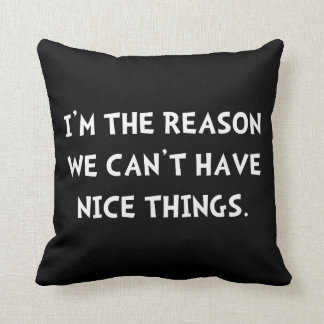 Nice Things Pillow