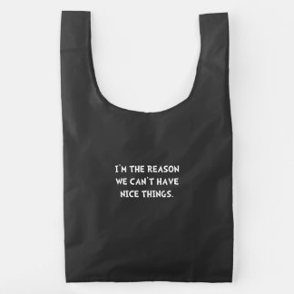 Nice Things Reusable Bag