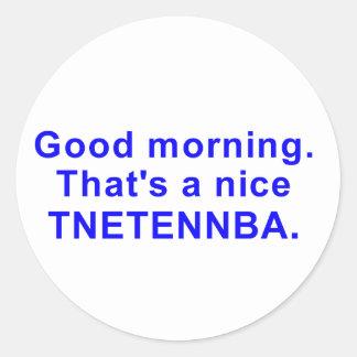 Nice tnetennba sticker