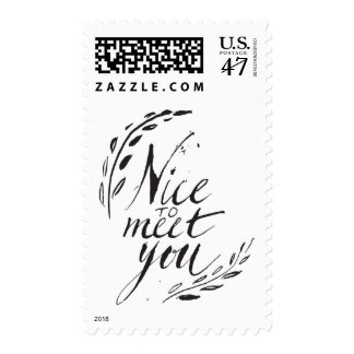 Nice To Meet You Postage