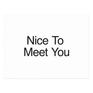 nice to meet you template