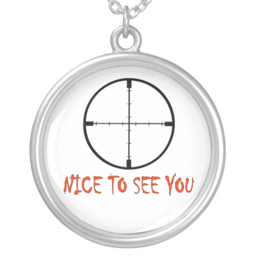 NICE TO SEE YOU CUSTOM NECKLACE